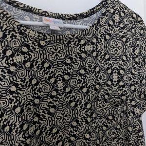 Lularoe Carly Geometric Kaleidescope Print Dress